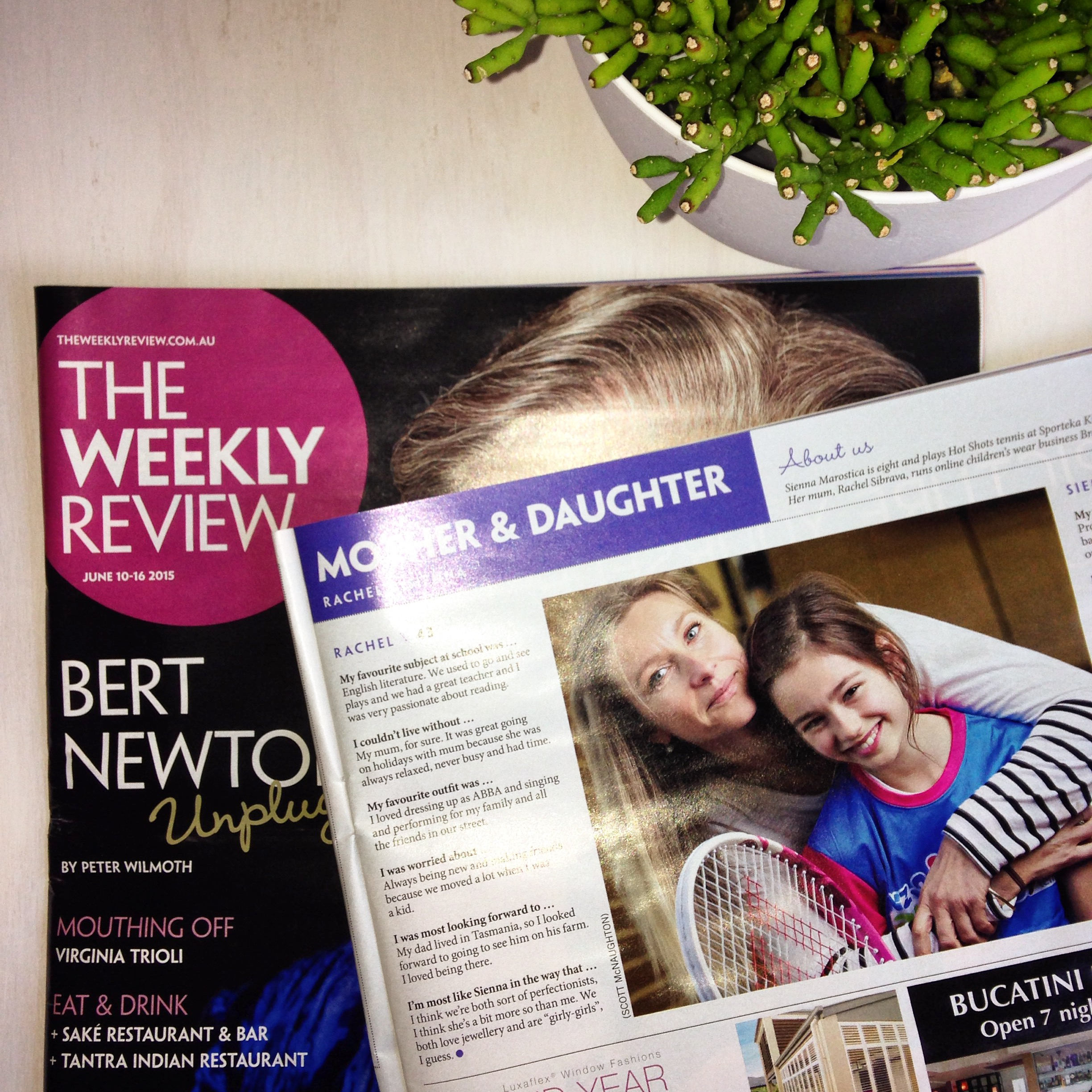 The Weekly Review - June 2015
