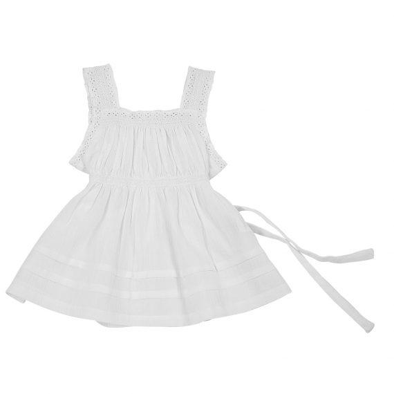 seersucker gauze dress